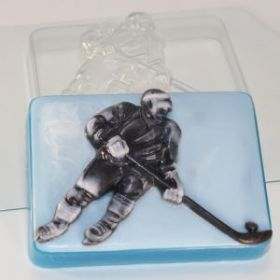 Форма для мыла Хоккеист