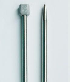 Спицы длинные металические 35 см № 7
